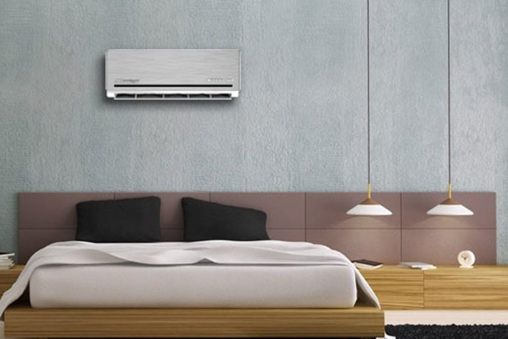 Ductless mini split air conditioners middlesex county for Split bedroom
