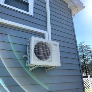 Mini split ductless AC system installed by Serv Tech NJ